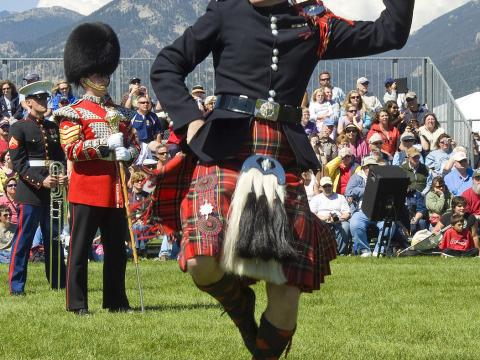 Celtic music, dancing and competitions at the Longs Peak Scottish-Irish Highland Festival