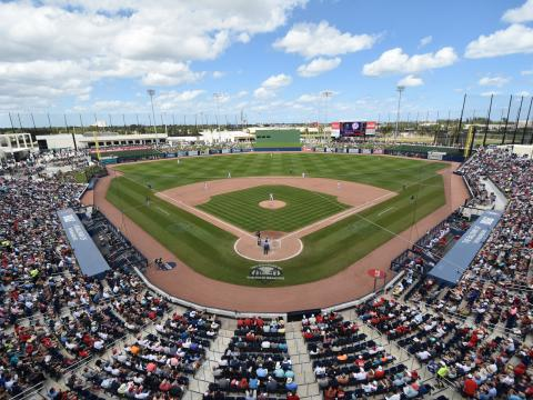 Ballpark of The Palm Beaches, Spring Training complex in Florida